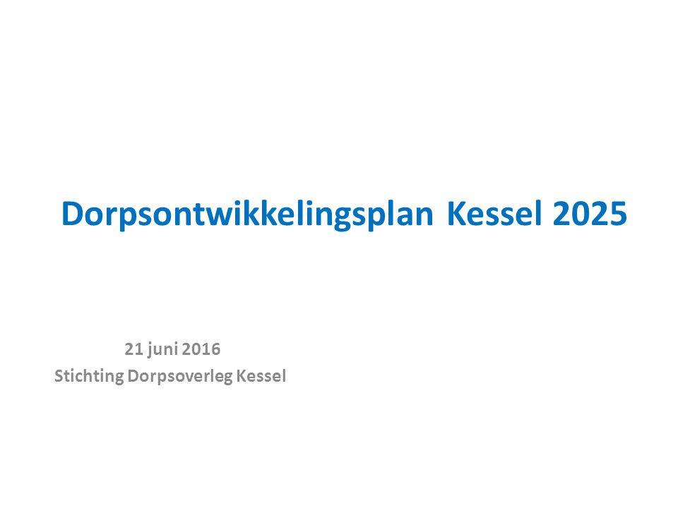 Dorpsontwikkelingsplan Kessel 2025 21 juni 2016 Stichting Dorpsoverleg Kessel