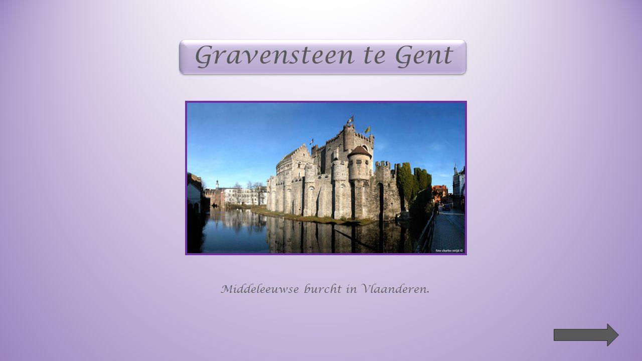 Gravensteen te Gent Middeleeuwse burcht in Vlaanderen.