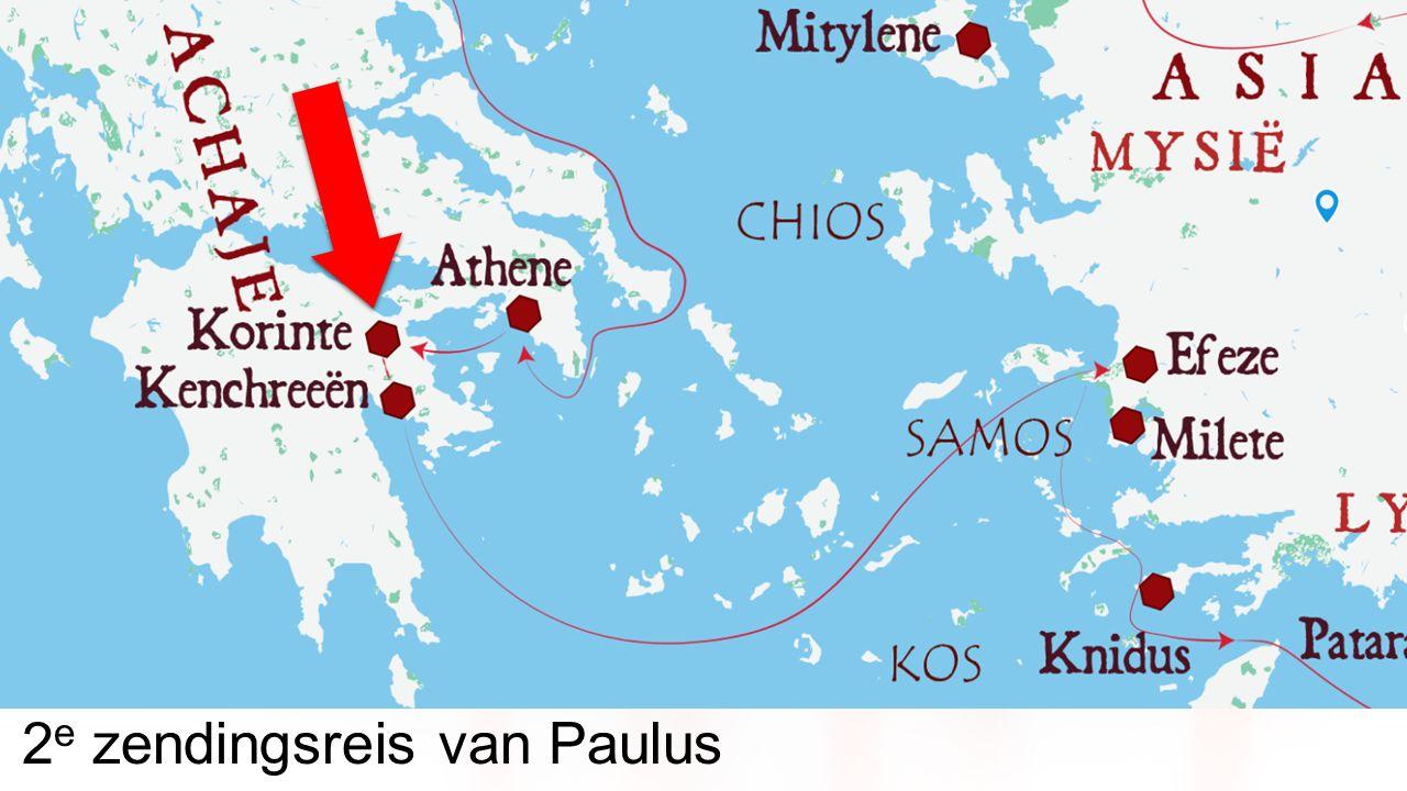 2 e zendingsreis van Paulus