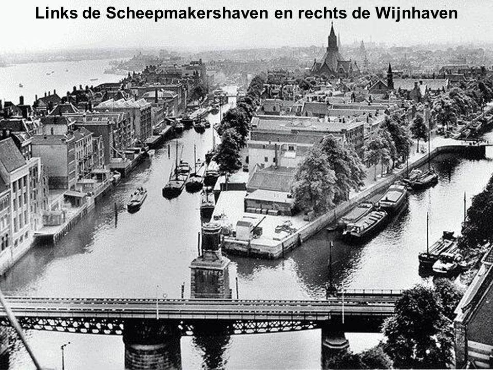 Wasserij Merks in de Heemraadstraat, 1945
