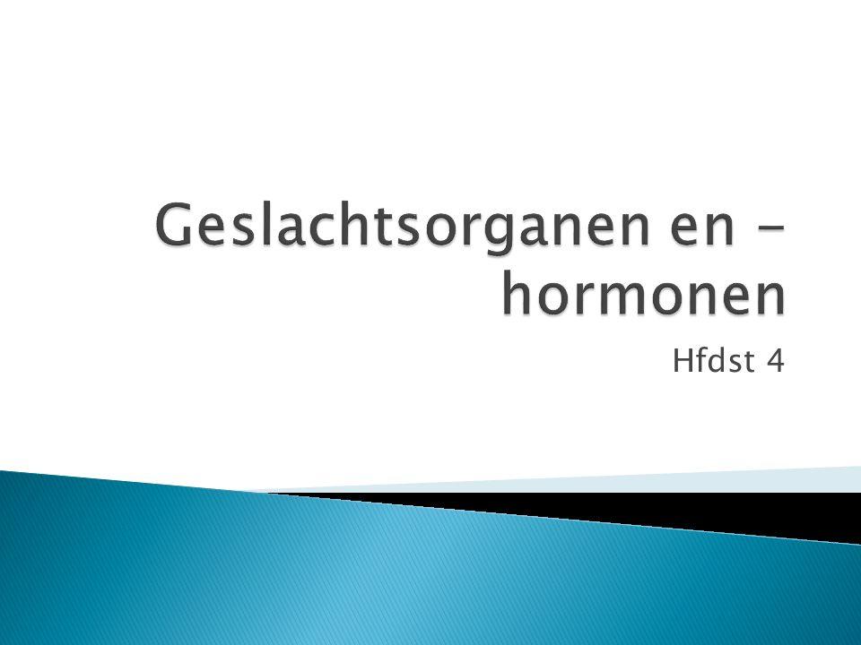 HormoonProductiewerking FSHhersenenZorgt voor rijping eicellen Bronsthormooneierstokken (vol blaasje) Zorgt dat dier tochtig/berig wordt OvulatiehormoonhersenenZorgt dat eicel vrijkomt Drachtig: Drachthormoon eierstokken (leeg blaasje) Beschermt de dracht Niet drachtig: PGlege baarmoederZorgt dat cyclus opnieuw begint (FSH productie)