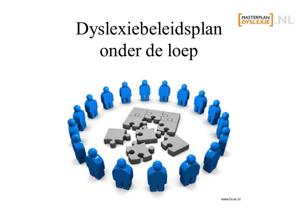Dyslexiebeleidsplan onder de loep