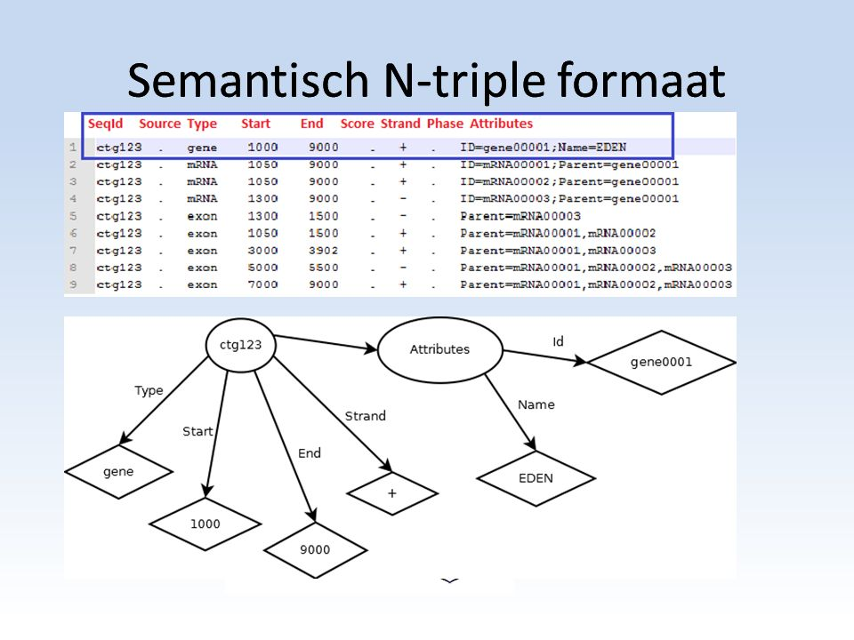 Semantisch N-triple formaat
