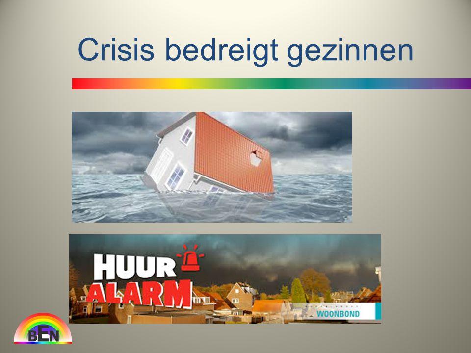 Crisis bedreigt gezinnen