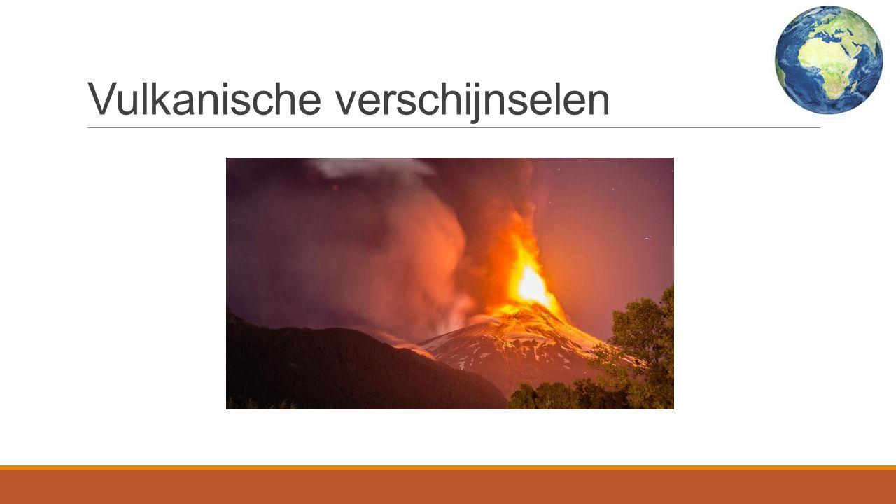 Vulkanische verschijnselen