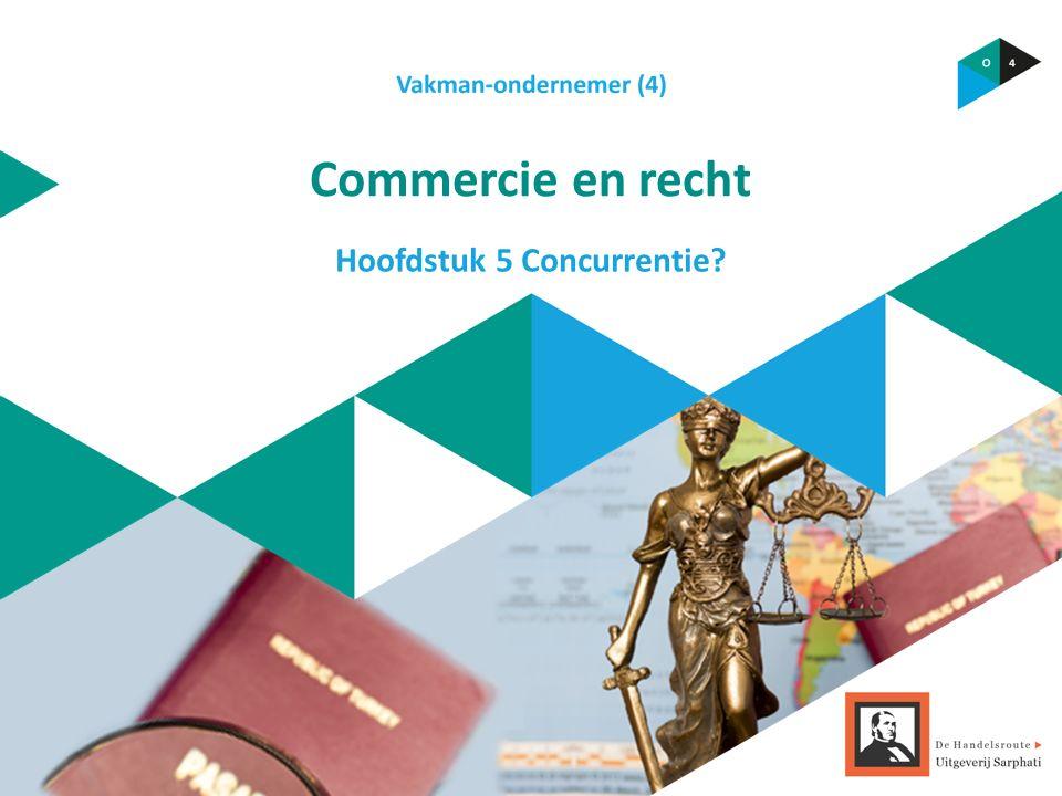 Commercie en recht Hoofdstuk 5 Concurrentie?
