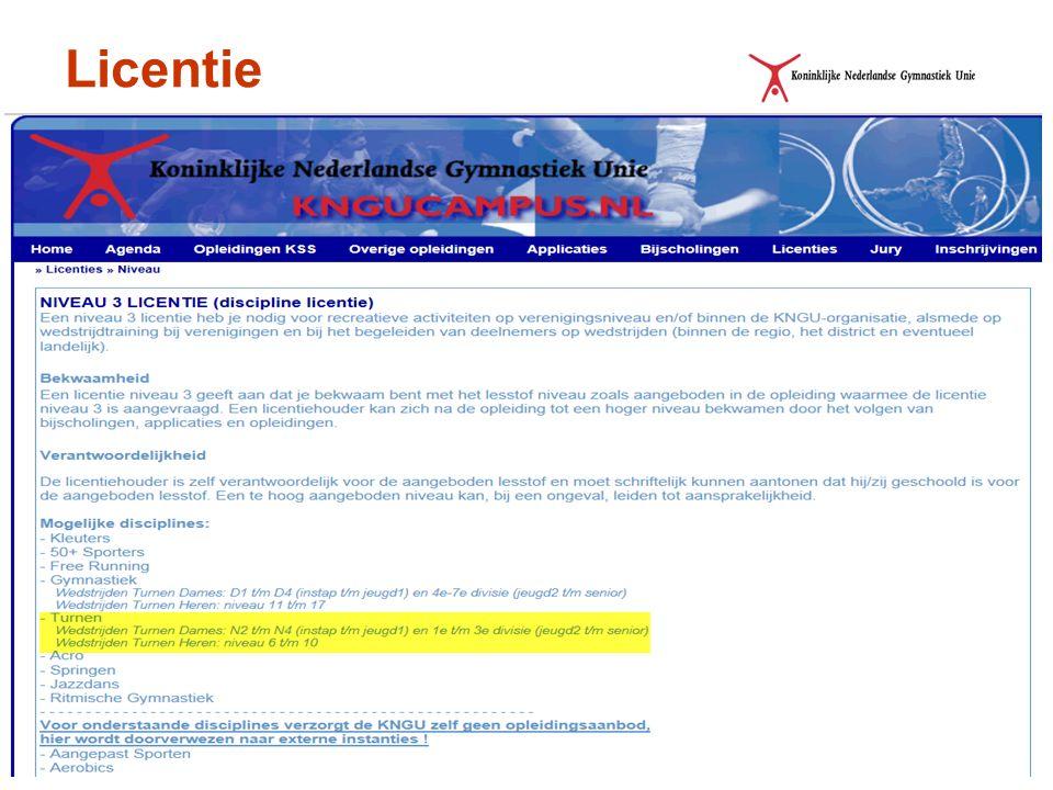 - Licentie verlengen - Licentieoverzicht versie december 2013