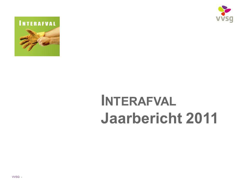 VVSG - I NTERAFVAL Jaarbericht 2011