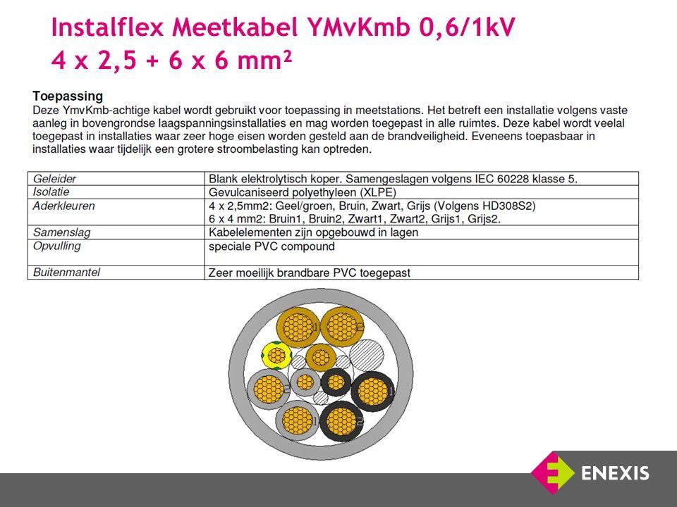 Instalflex Meetkabel YMvKmb 0,6/1kV 4 x 2,5 + 6 x 6 mm²