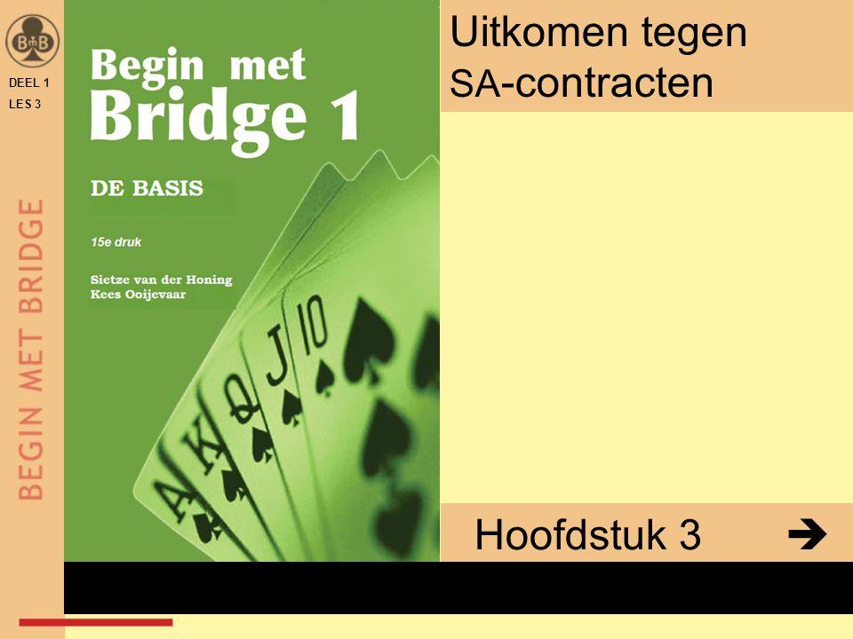 DEEL 1 LES 3 Uitkomen tegen SA -contracten Hoofdstuk 3  x