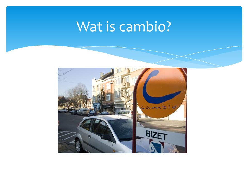Wat is cambio?