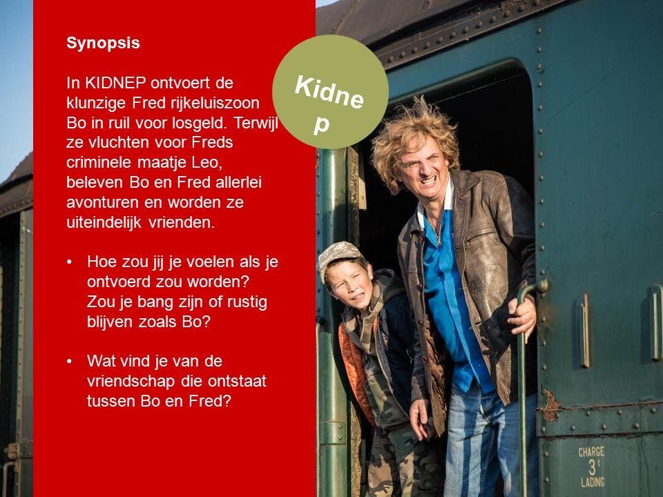 Kidne p Synopsis In KIDNEP ontvoert de klunzige Fred rijkeluiszoon Bo in ruil voor losgeld.