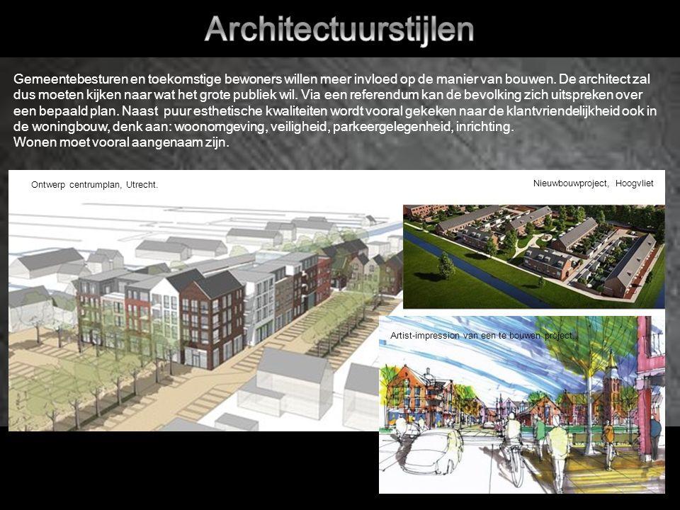 Gemeentebesturen en toekomstige bewoners willen meer invloed op de manier van bouwen.