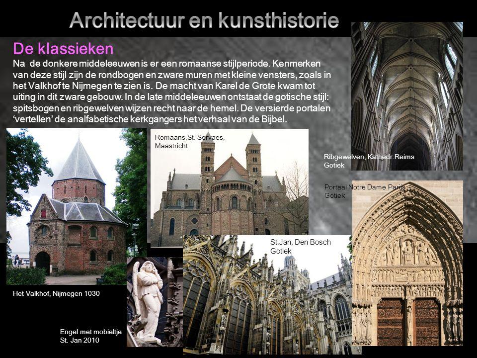 De klassieken Na de donkere middeleeuwen is er een romaanse stijlperiode.