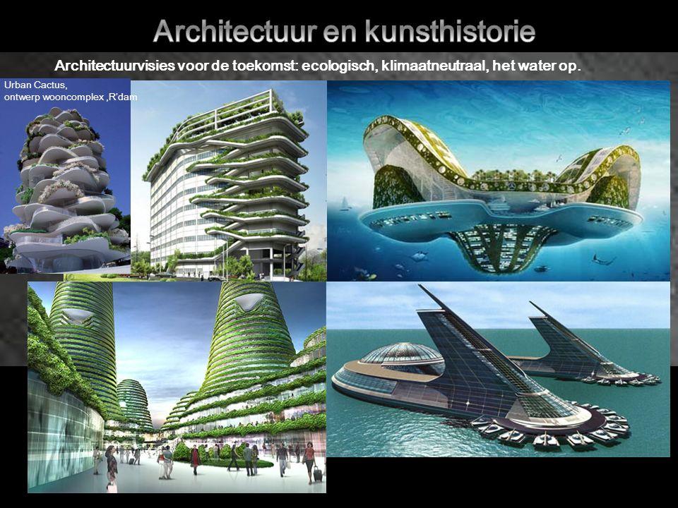 Architectuurvisies voor de toekomst: ecologisch, klimaatneutraal, het water op.