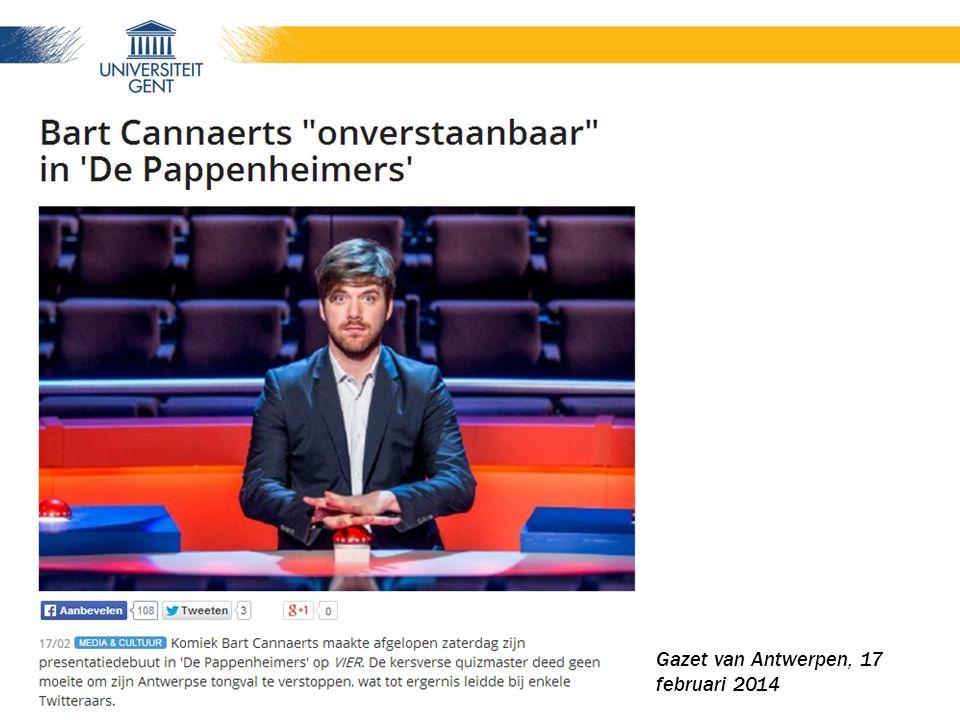 De Volkskrant, 8 februari 2014