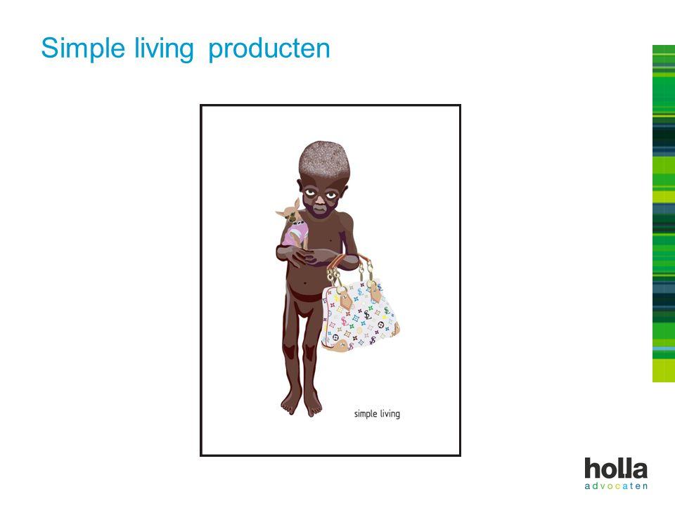 Simple living producten