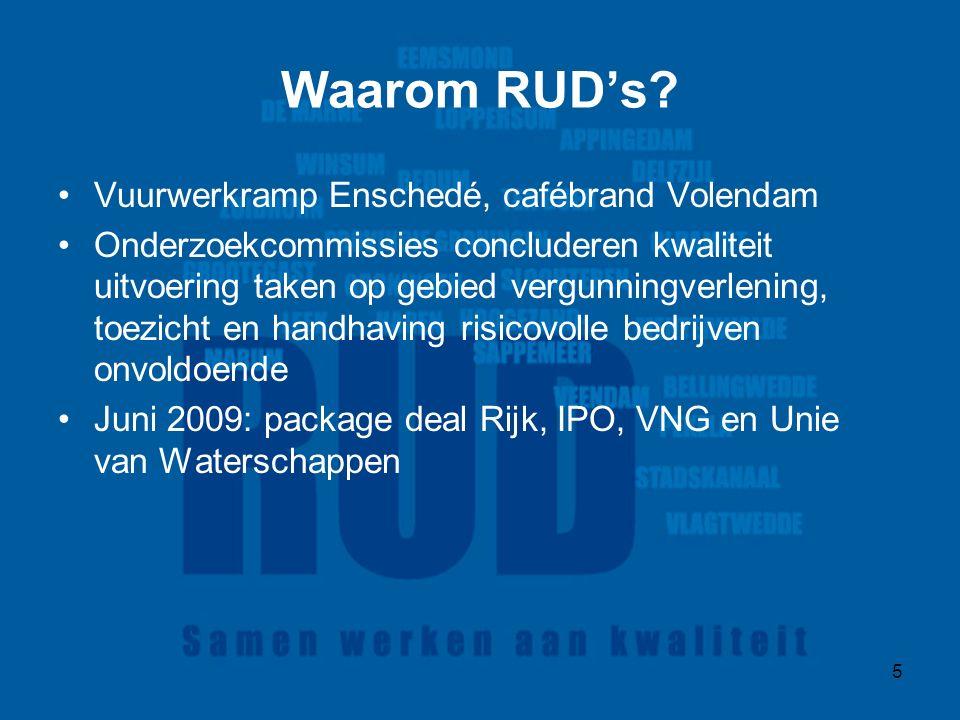 5 Waarom RUD's.