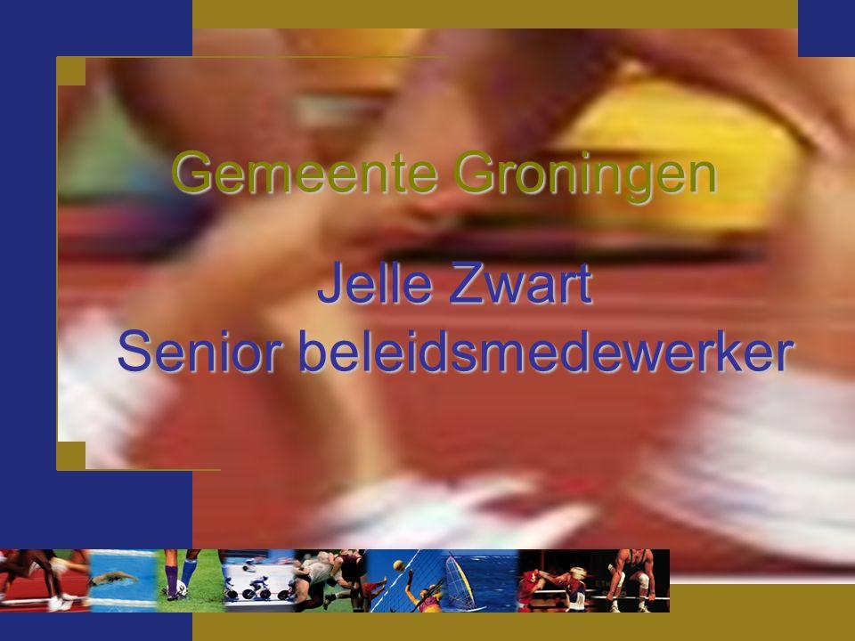 Jelle Zwart Senior beleidsmedewerker Gemeente Groningen