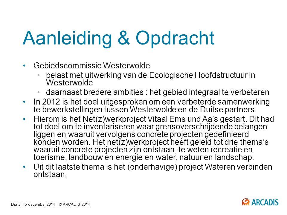 Aanleiding & Opdracht Gebiedscommissie Westerwolde belast met uitwerking van de Ecologische Hoofdstructuur in Westerwolde daarnaast bredere ambities :