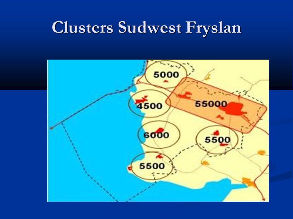 Clusters Sudwest Fryslan