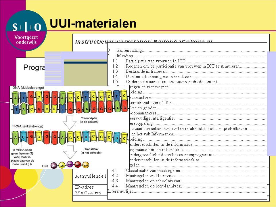 UUI-materialen