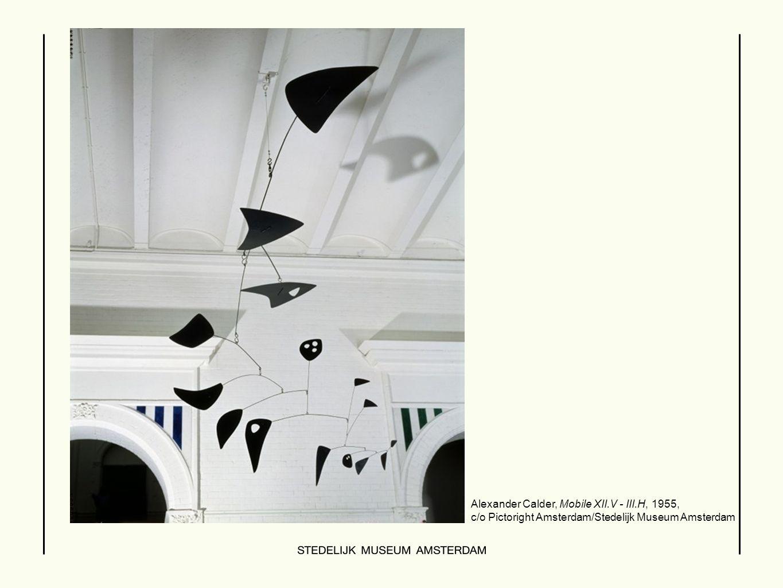  Alexander Calder, Mobile XII.V - III.H, 1955, c/o Pictoright Amsterdam/Stedelijk Museum Amsterdam