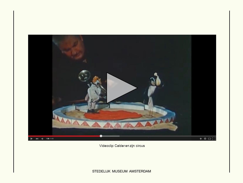 Videoclip: Calder en zijn circus