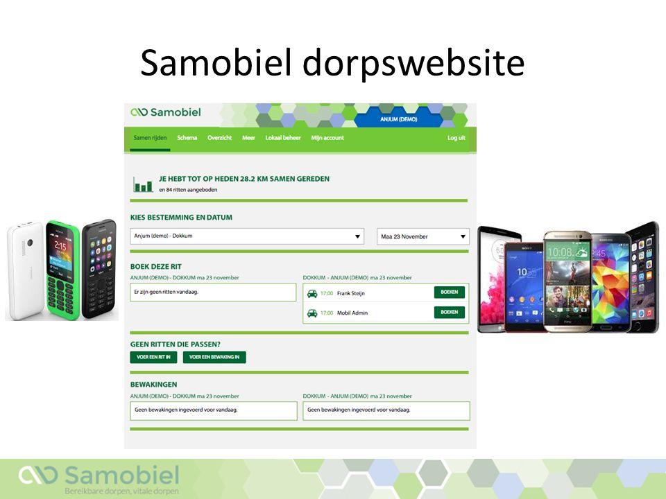 Samobiel dorpswebsite