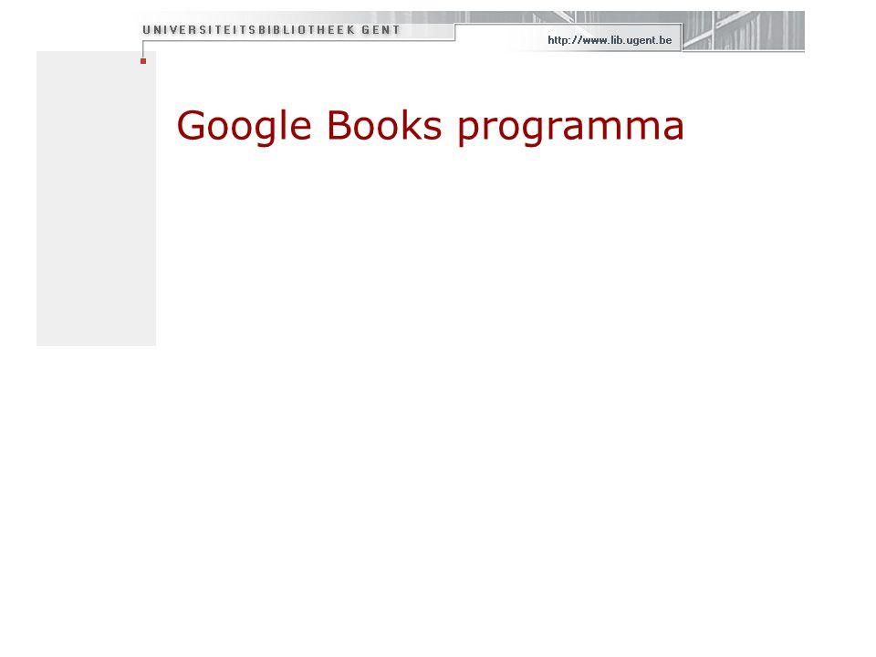 Google Books programma