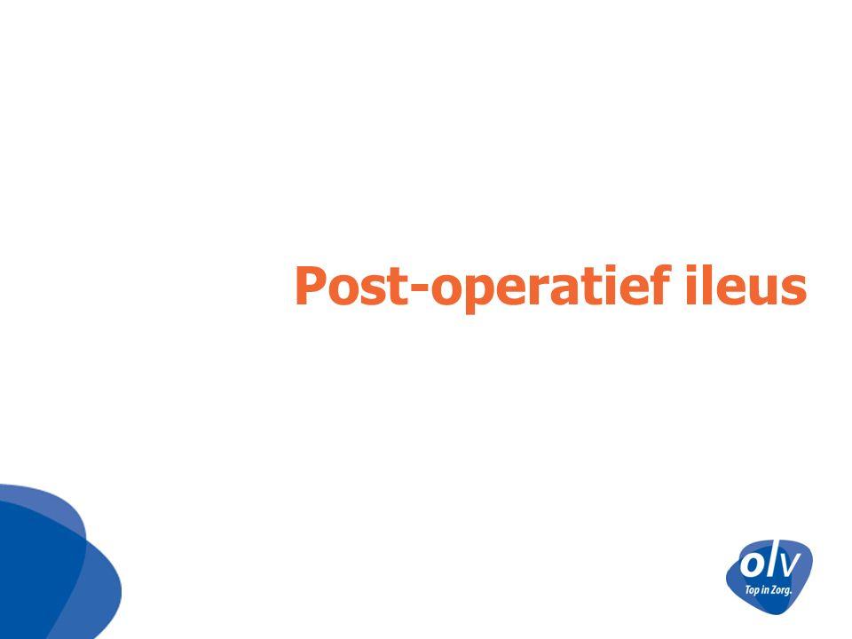 Post-operatief ileus