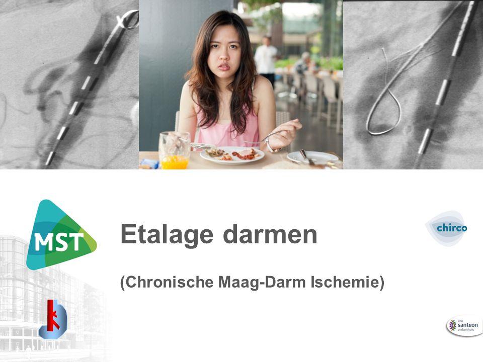 Etalage darmen (Chronische Maag-Darm Ischemie)