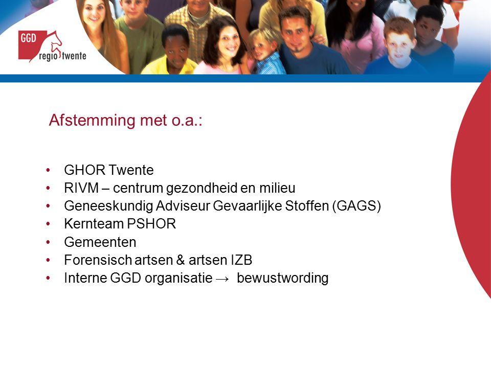 OTO & aanpassing GROP 1 e implementatiecursus GROP van de GHOR Academie in samenwerking met RIVM-CGM voor alle sleutelfunctionarissen GROP (incl.