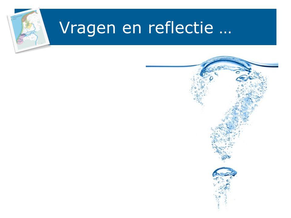 Vragen en reflectie … 15