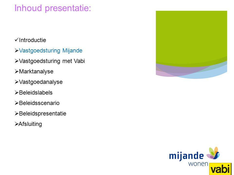24 Titel presentatie Mijande Wonen Inhoud: Voor elk label mogelijk om specifieke instellingen te doen voor: Huurbeleid Onderhoudsbeleid Doelgroepen Etc.