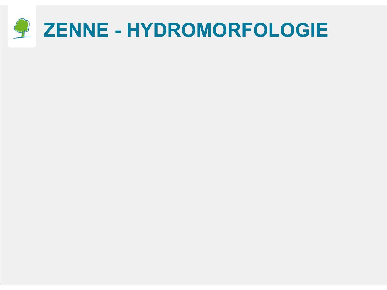 ZENNE - HYDROMORFOLOGIE
