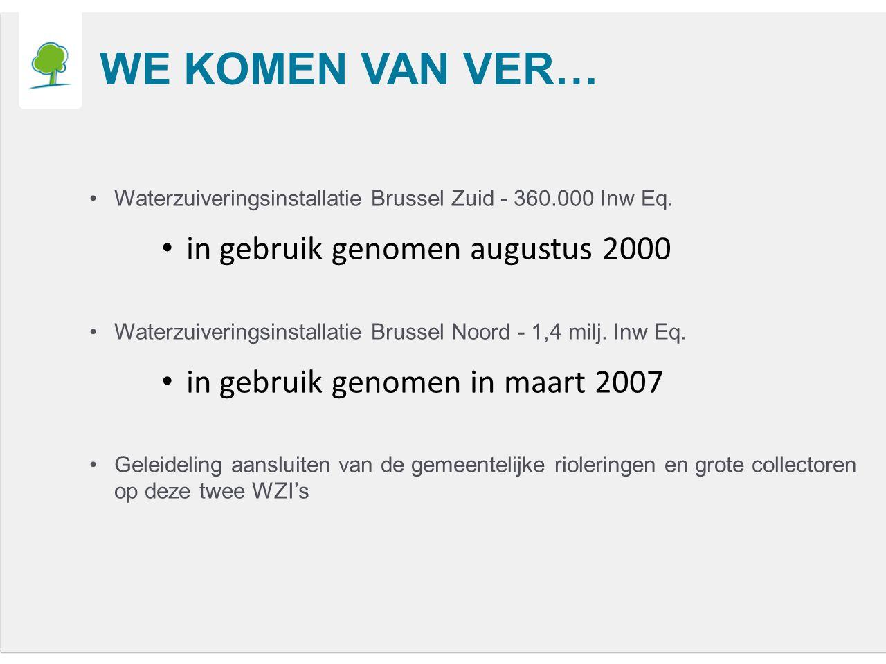 Waterzuiveringsinstallatie Brussel Zuid - 360.000 Inw Eq.