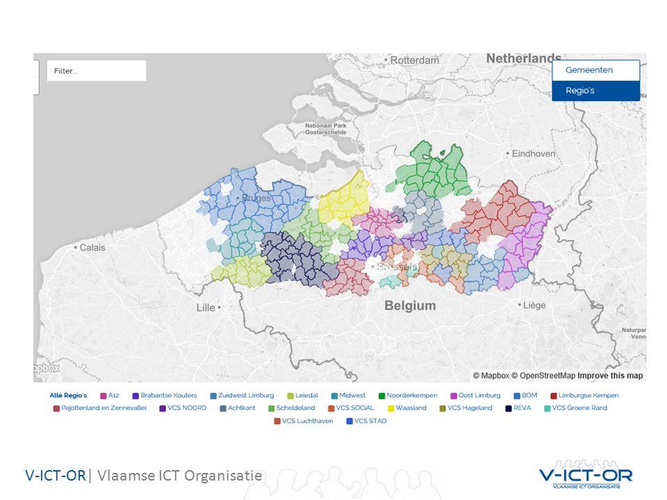 V-ICT-OR| Vlaamse ICT Organisatie B.Huidige situatie in Vlaanderen