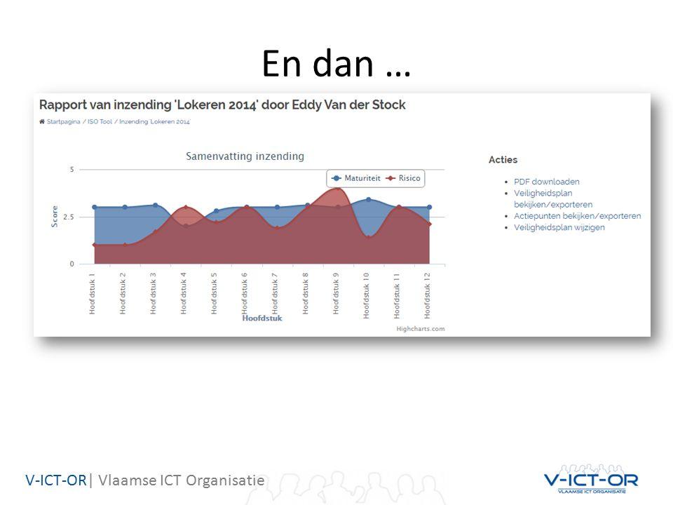 V-ICT-OR| Vlaamse ICT Organisatie En dan …
