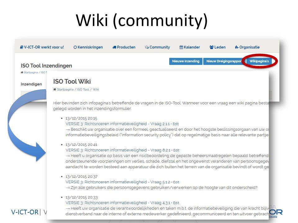 V-ICT-OR| Vlaamse ICT Organisatie Wiki (community)