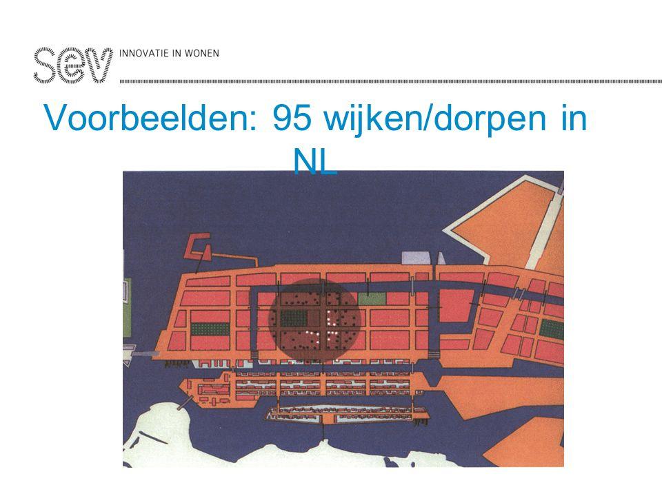 Voorbeelden: 95 wijken/dorpen in NL
