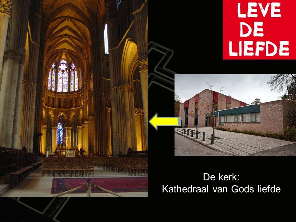 De kerk: Kathedraal van Gods liefde