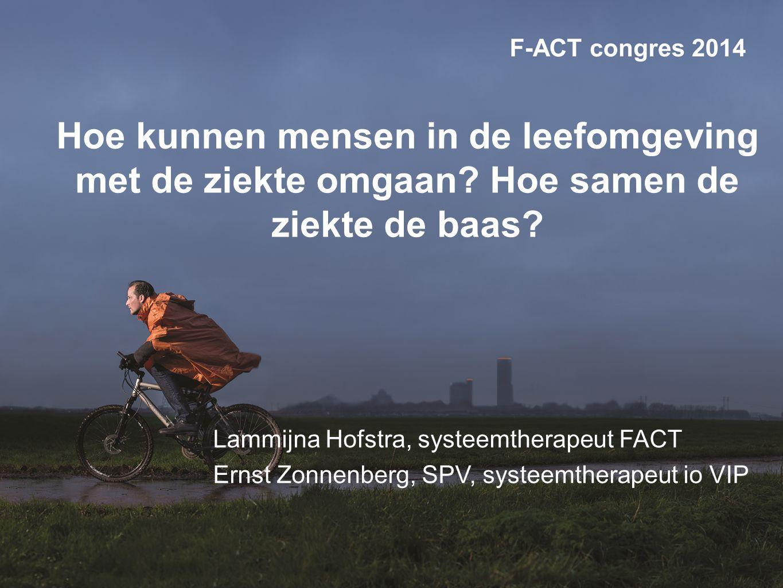 www.factcongres.nl Programma De triade patiënt-naasten-hulpverlening Bepalende factoren Systemisch interviewen en interveniëren Welke rol neem je als hulpverlener in.
