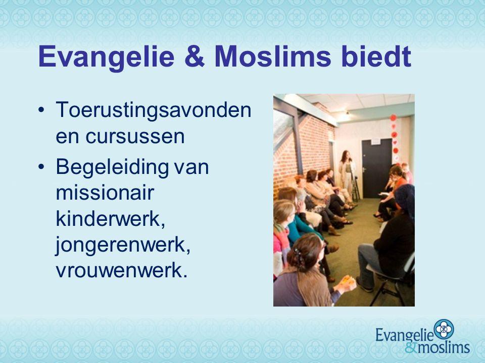 Evangelie & Moslims biedt Toerustingsavonden en cursussen Begeleiding van missionair kinderwerk, jongerenwerk, vrouwenwerk.