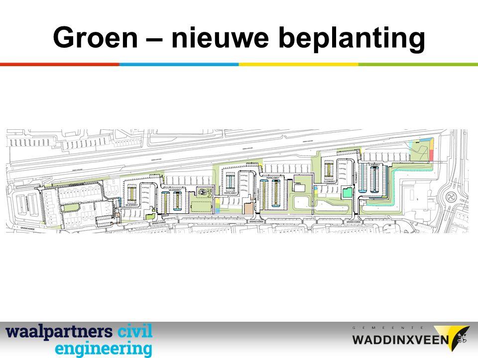 Groen – nieuwe beplanting