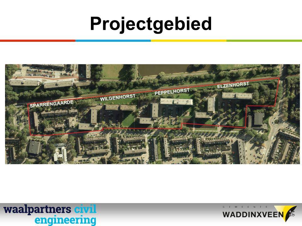 Projectgebied Willem de Zwijgerlaan ELZENHORST v.