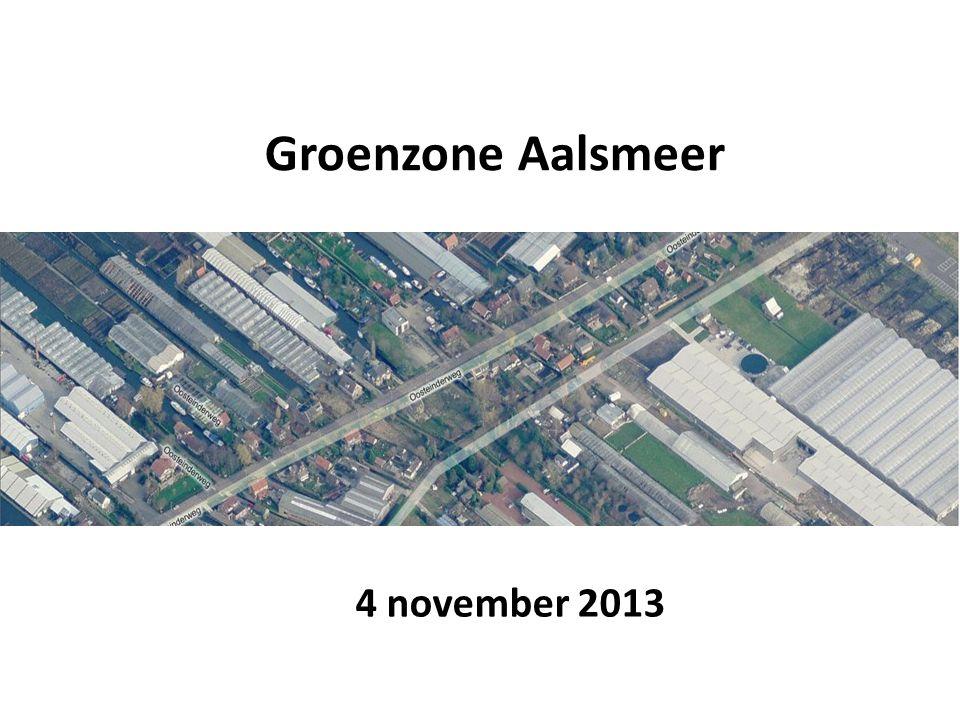 Groenzone Aalsmeer 4 november 2013