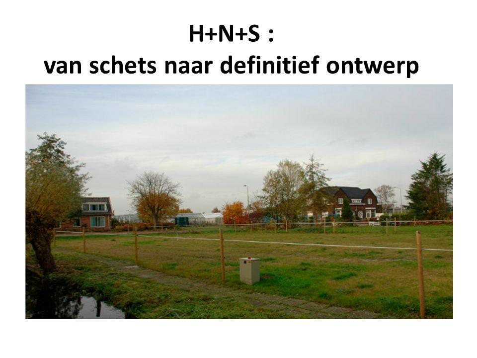 H+N+S : van schets naar definitief ontwerp