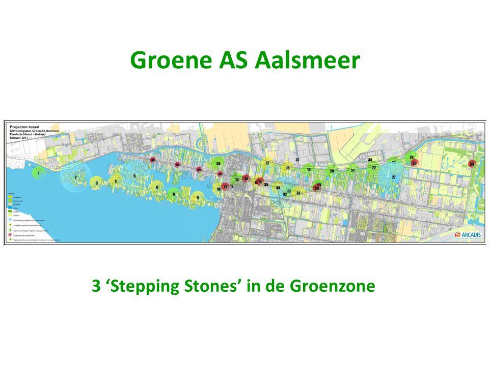 Groene AS Aalsmeer 3 'Stepping Stones' in de Groenzone