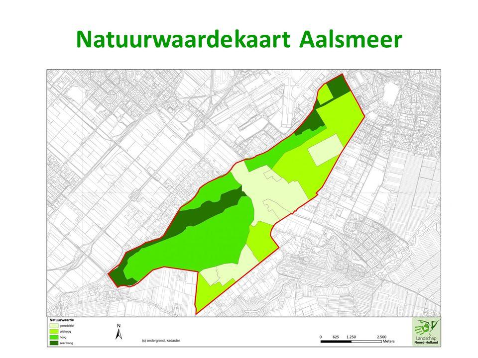 Natuurwaardekaart Aalsmeer